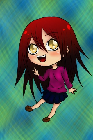 Chibi Girl by Happy-a on deviantART