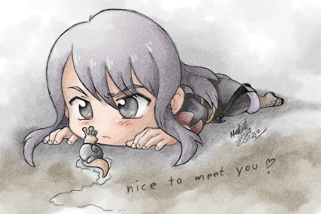 Nice to meet you by Pichu-Chan