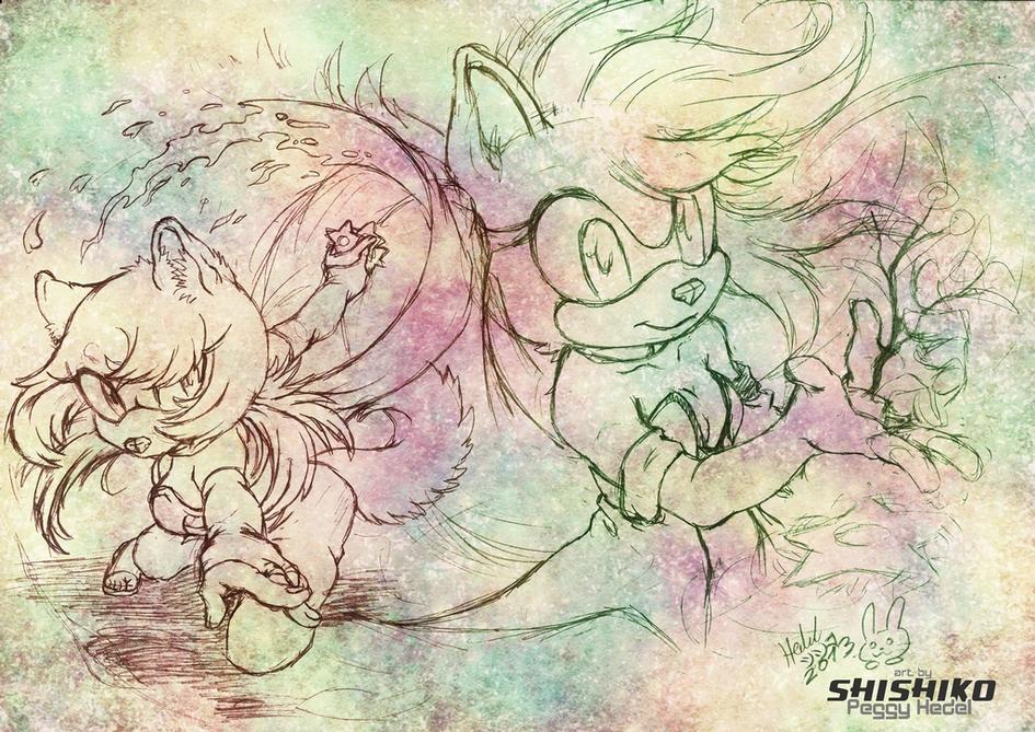 - Nightflowers - by Pichu-Chan