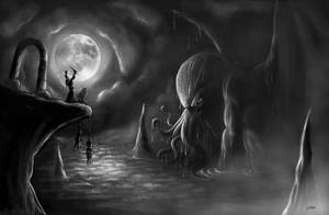 Cthulhu rising -REMAKE- by NuttENuttE