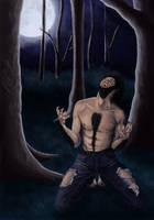 transformation of Wolfman by Amarazak