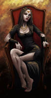 Queen of Shadows by Amarazak