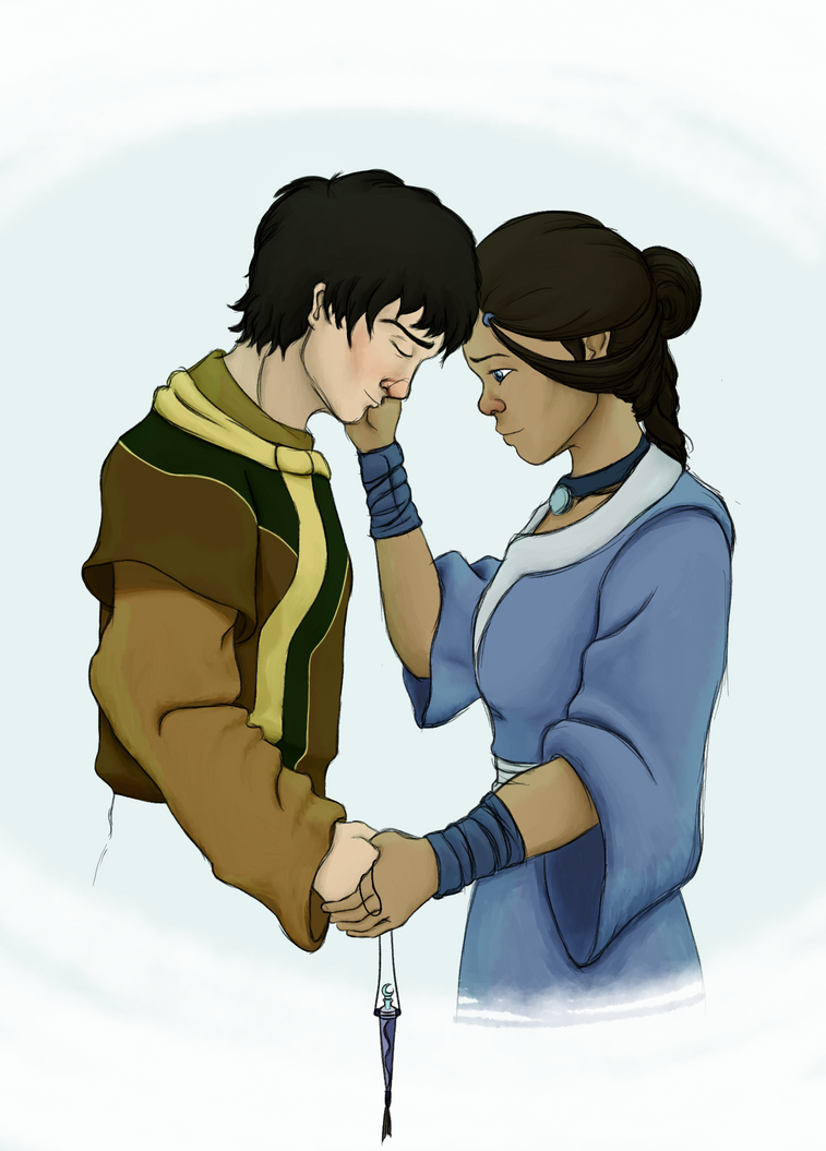 Zuko and Katara - The Healing by theroguesigil