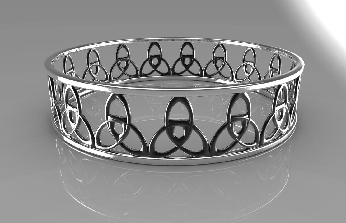 Celtic Ring in Chrome by MonoFlow