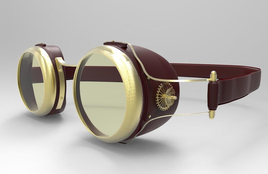 Steampunk Goggles by MonoFlow on DeviantArt