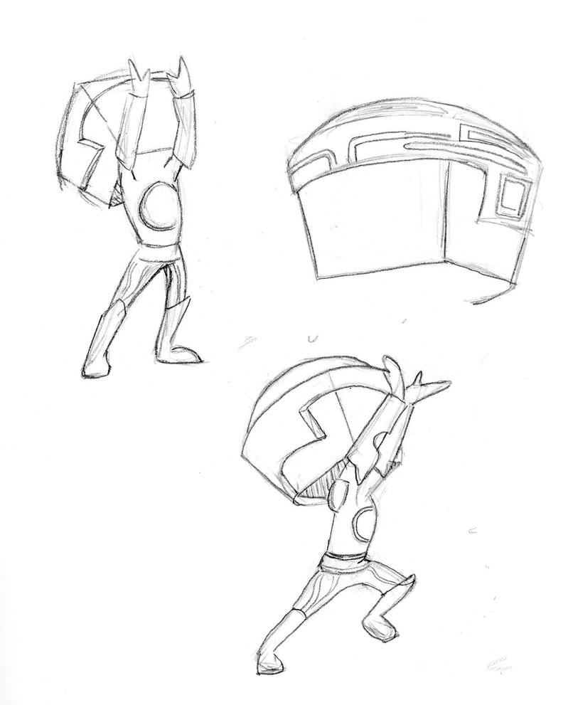 Character Design Ai : Tron character design by ai sketch jam on deviantart