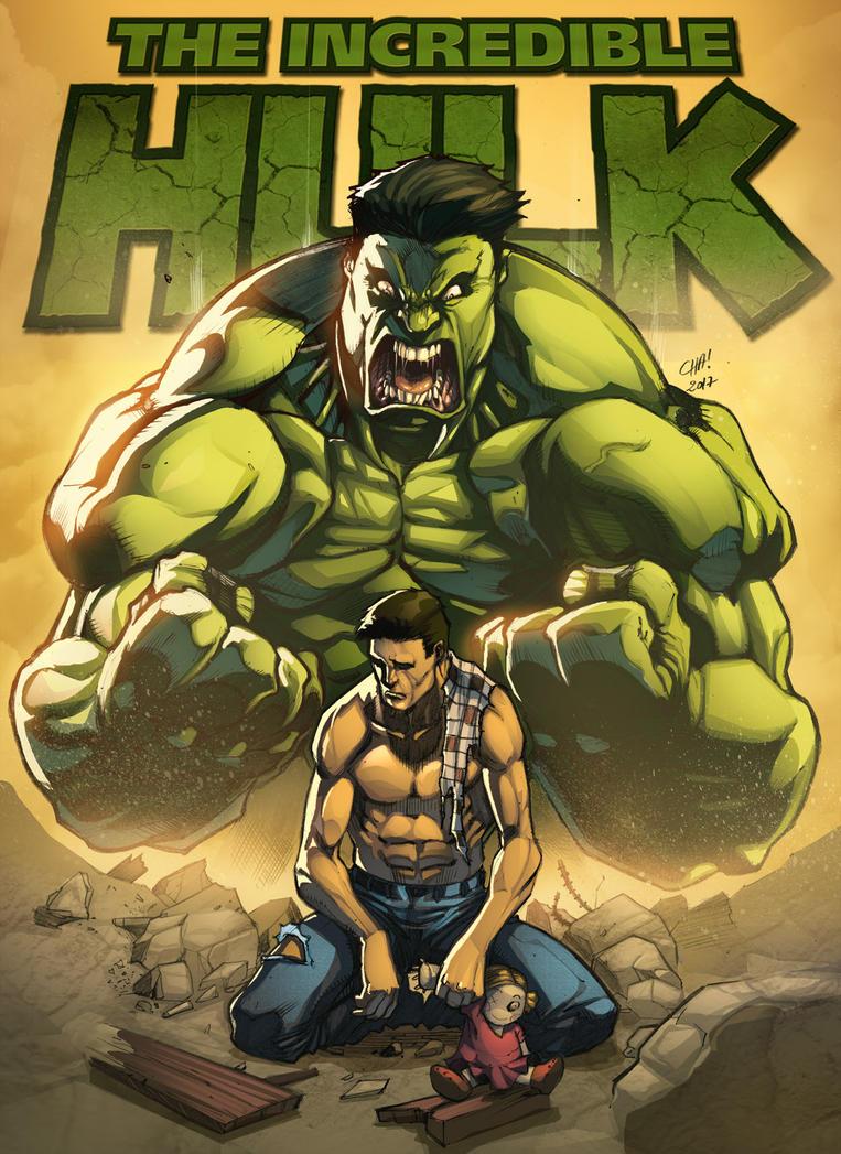 Incredible Hulk by VinceColors