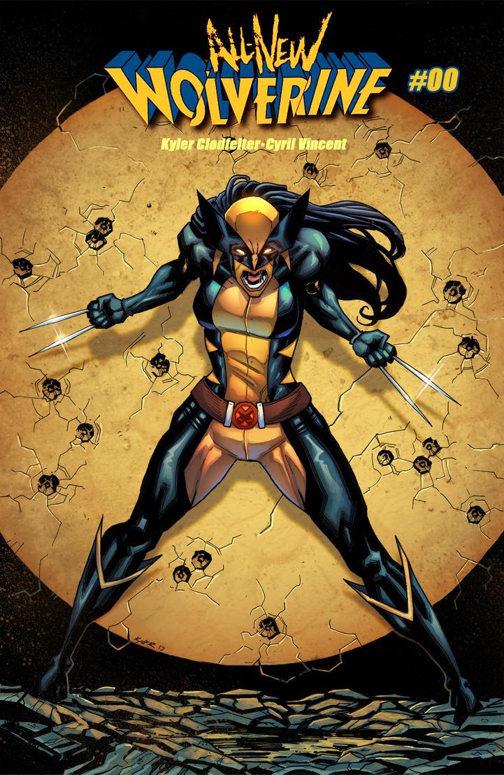 X-23 Cover Color Fanart by VinceColors