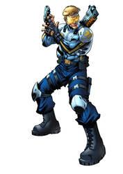 Captain Commando 1 by VinceColors