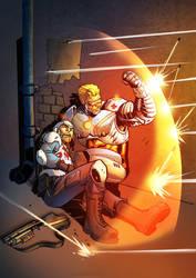 Captain Commando 5 by VinceColors