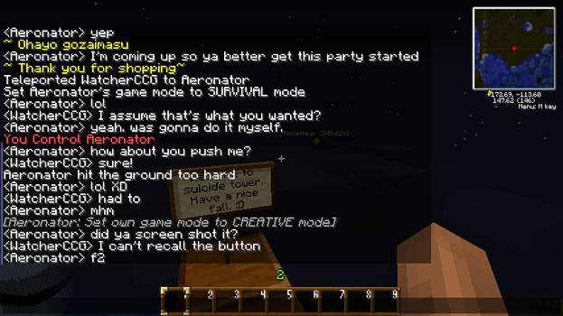 Minecraft - LOL Aero