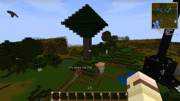 Minecraft - CQ's Treehouse Hotel