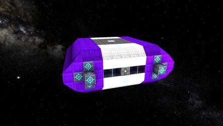Starmade: Refitting the Barge - Shuttlepod 01 by WatcherCCG