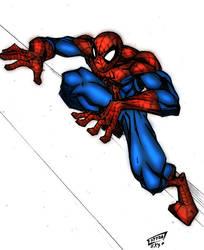 spider man by wishu