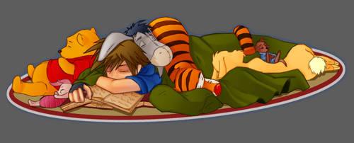 Kingdom Hearts - story time by wishu
