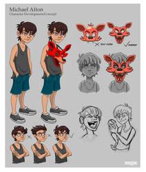 Michael Afton - Character Development/Concept