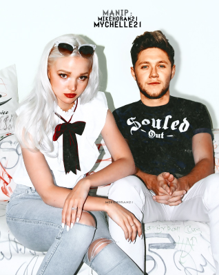 Manip:Dove Cameron and Niall Horan. by mychelle21