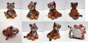 Detailed Tiger Figure by TerraLove