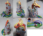 Clay castle multiview by TerraLove