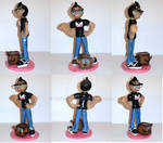Markiplier and Tiny Box Time Figurine multiview