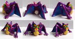 Kecil the Conceited figurine multiview