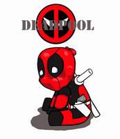 WIP Deadpool chibi by TerraLove