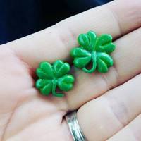 Shamrock earrings by TerraLove