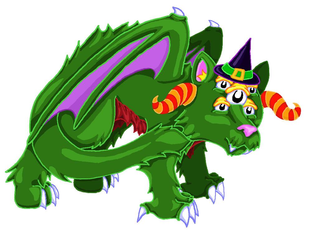 Halloween Kweeble by TerraLove