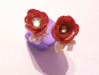 Valentine earring set 1.  by TerraLove