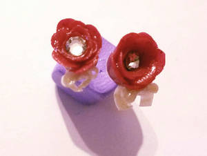 Valentine earring set 1.