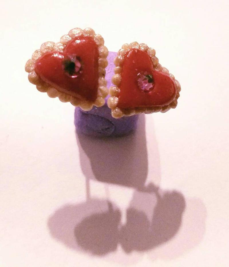 Valentine earring set 2 by TerraLove