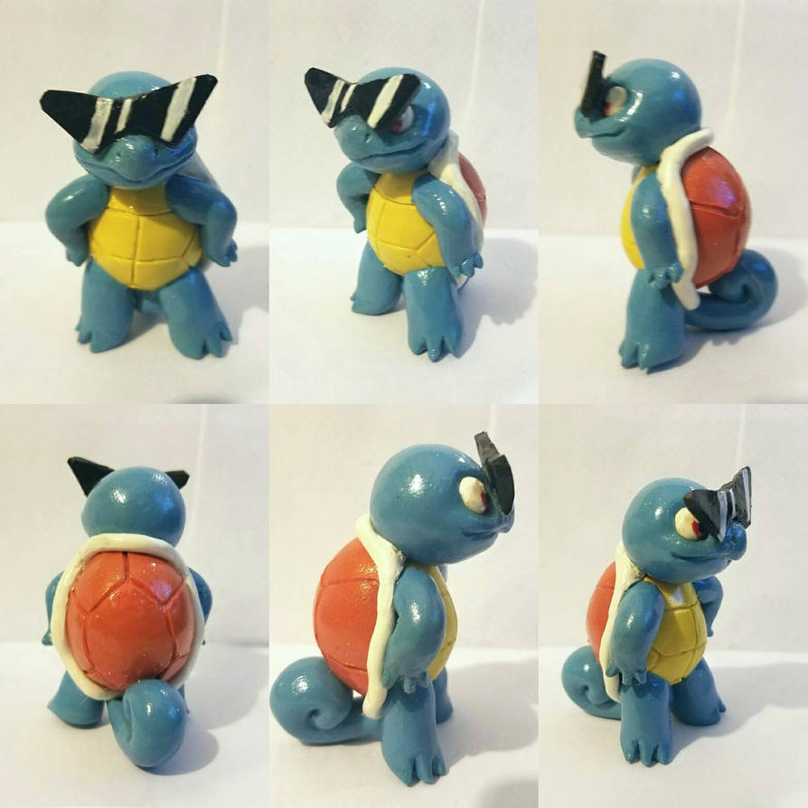 Squirtle Squad Captain by TerraLove