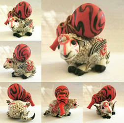 Kasugami figure  by TerraLove