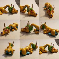 Kweeble monster figure by TerraLove