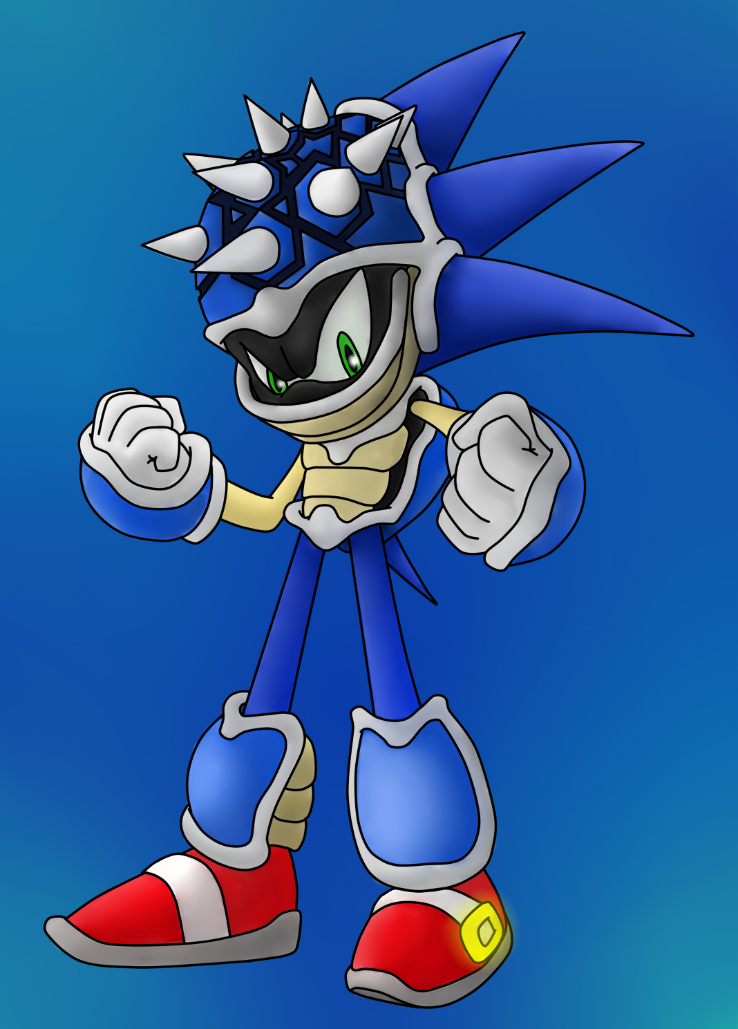 Blue Shell Sonic by Sweecrue