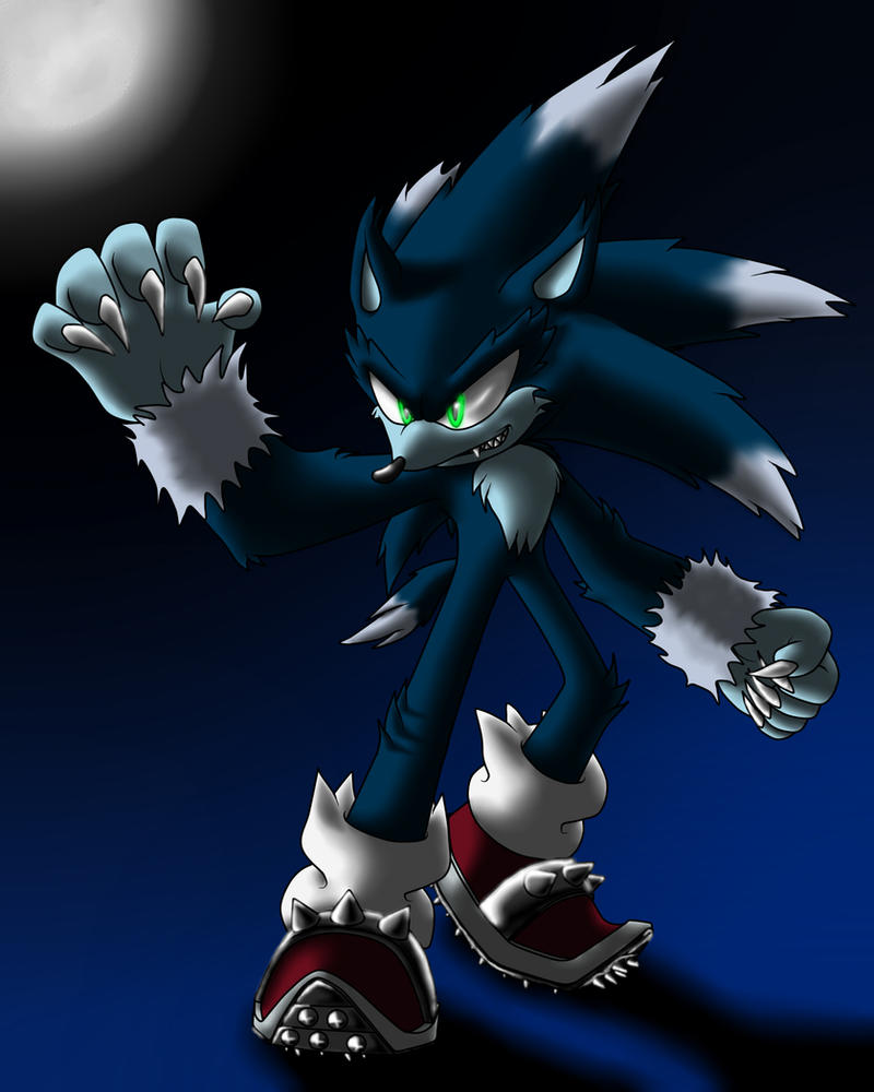 Sonic the Werehog by Sweecrue on DeviantArt
