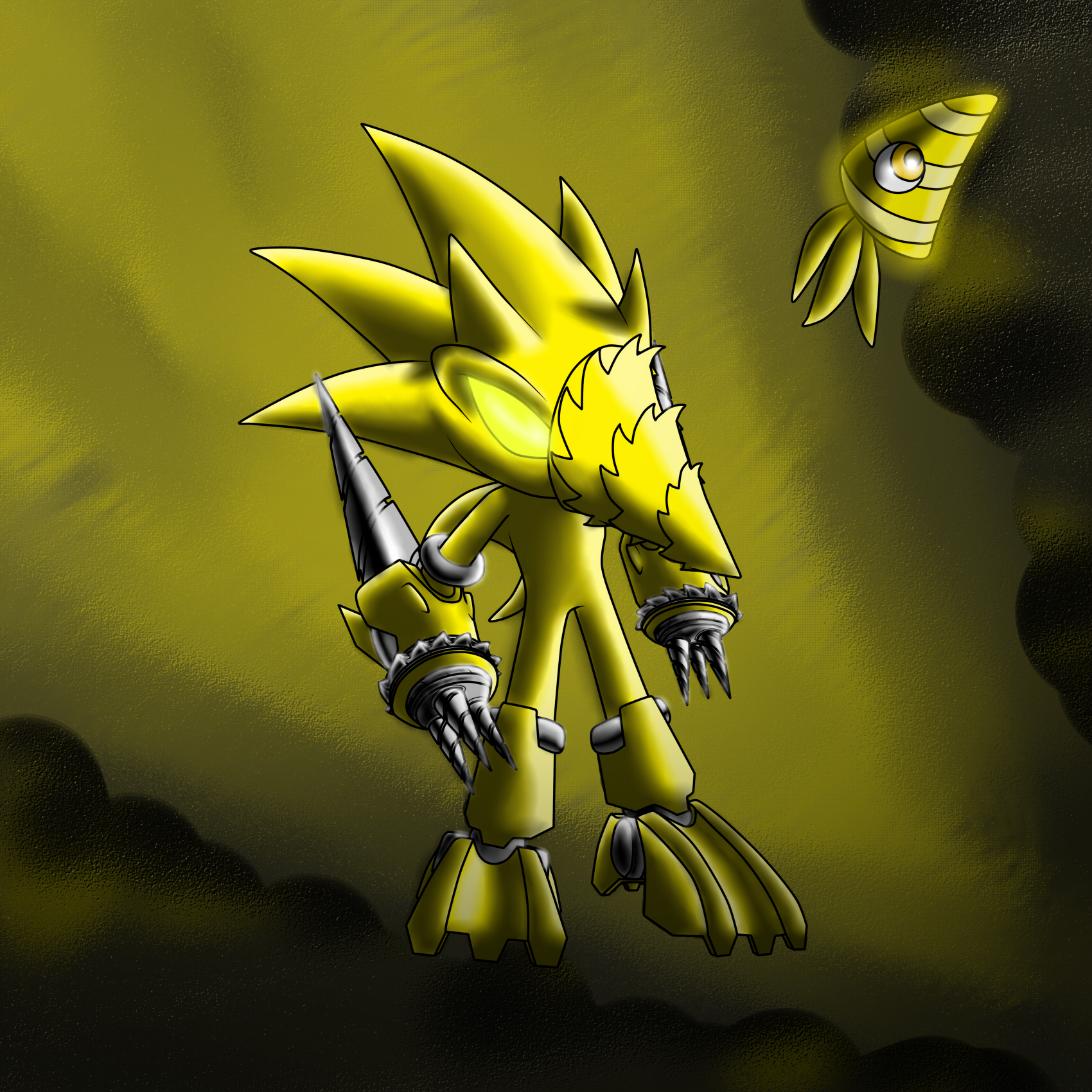 Sonic Forms: Drill Sonic By Sweecrue On DeviantArt
