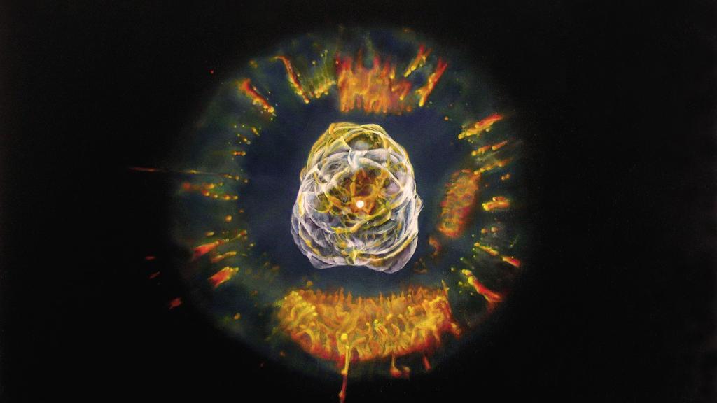 Eskimo Nebula [Oil on Canvas] by dbattefeld