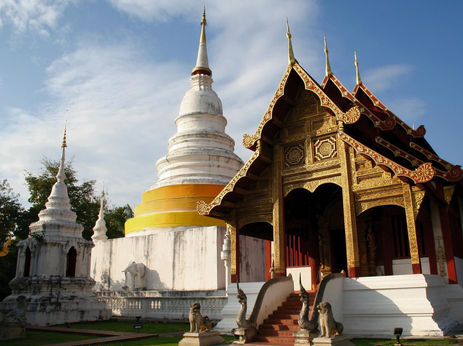 Chiang Mai Buddhist Temple By FletchLives