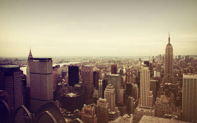 Manhattan from Rockefeller by FletchLives