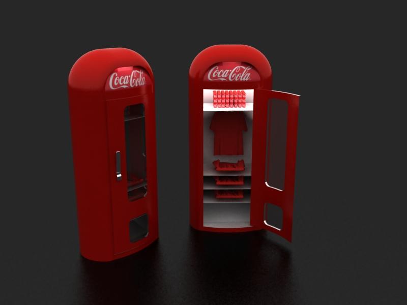 Coca Cola Clothes Fridge By Mimo2210 On Deviantart