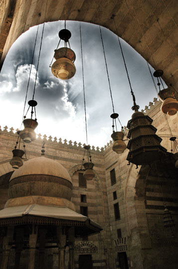 The Sky Through Ibn barquq I by mimo2210