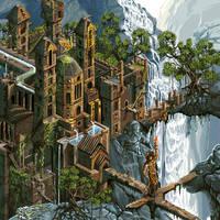 lost castle by DangTruong