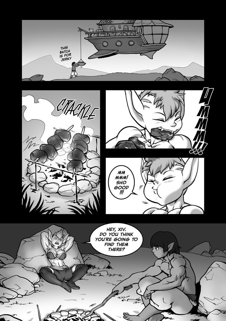Forbidden Frontiers 6 Campfire Barbeque by Pokkuti