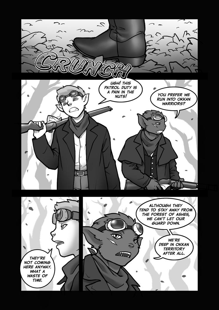 Forbidden Frontiers 75 Cowboy elf? by Pokkuti