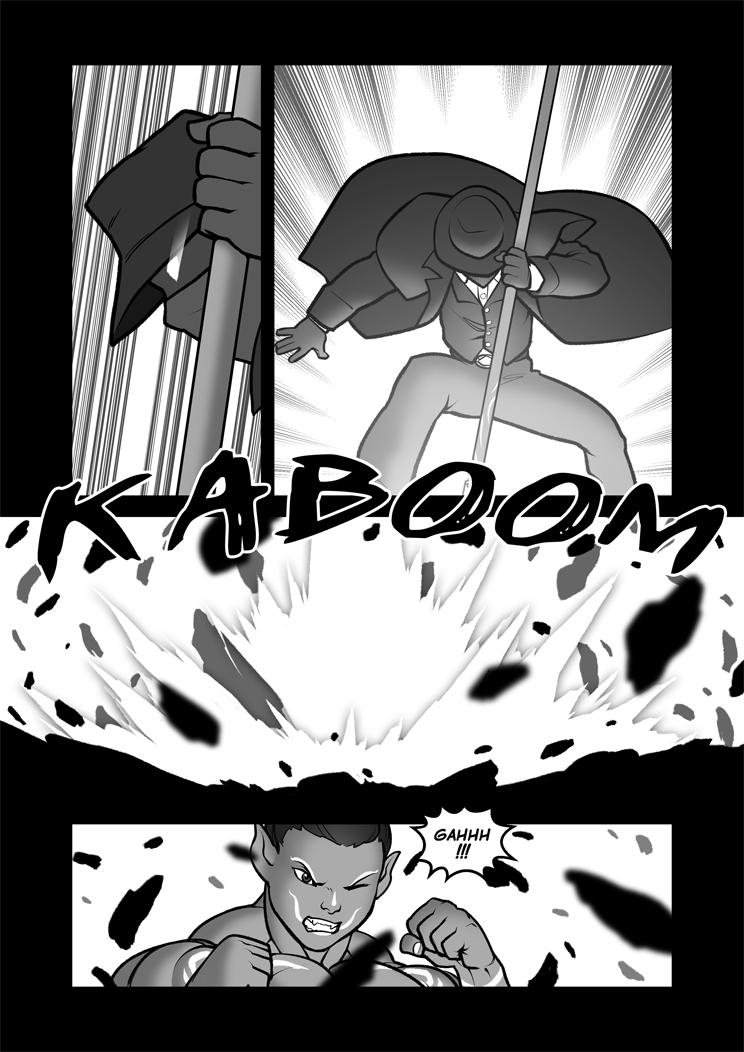 Forbidden Frontiers 96 Escape Ninjutsu! by Pokkuti