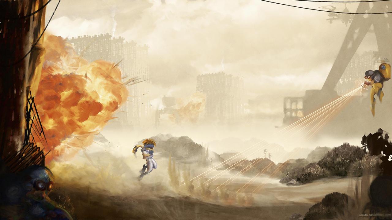 War Zone by Orioto