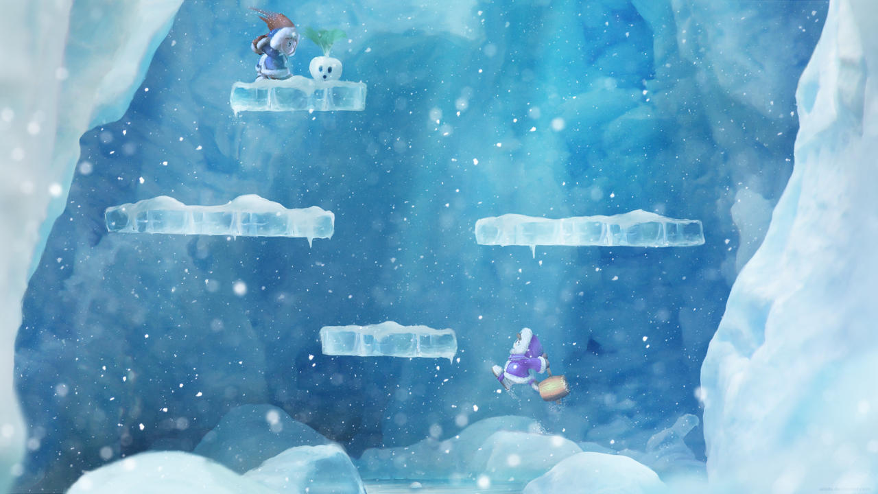 You have ten billion pounds to make one game. Go. - Page 2 Ice_Climber_by_Orioto