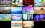 Wallpaper packs - Sega Inspired