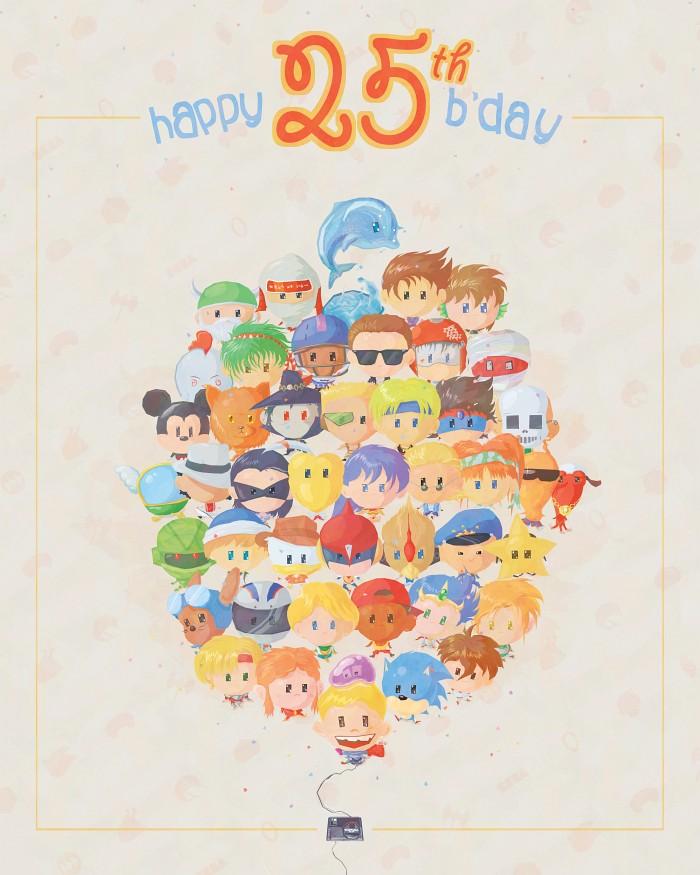 Genesis 25th bday
